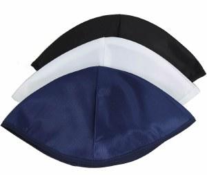 Shul Kippot Unlined Rayon Navy Bulk Pack of 144