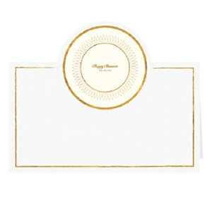 Passover Place Cards Plate Design 12 Pack