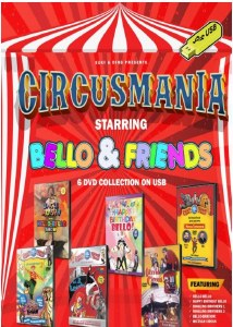 Circus Mania 6 DVD Colection USB