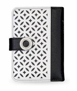 Siddur Eis Ratzon with Tehillim Faux Leather Lacey Black and White Design Ashkenaz
