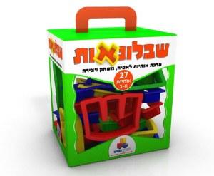 "Hebrew Alef Bet Cookie Cutters 27 Plastic 2"" Pieces"