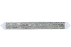 "Atara Set with Stones Intricate Diamond Pattern Design 3.5"" x 36"""