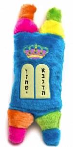 """Plush Sefer Torah Small Size Colorful 11"""""""