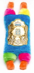"""Plush Sefer Torah Large Size Colorful 16"""""""