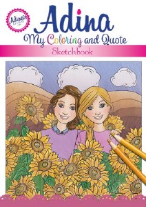 Adina: My Coloring and Quote Sketchbook [Paperback SpiralBound]