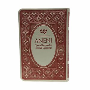 Aneni Hebrew and English Simcha Edition Purple [Paperback]