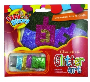 Chanukah Glitter Art Kit