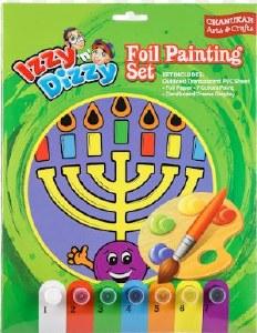 Chanukah Foil Art Crafts Kit