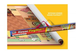 Mitzvah Kinder House Playmat