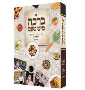 A Bracha Mit Taam Yiddish Laminated Pages [Hardcover]