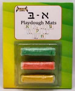 Aleph Beis Mats and Playdough