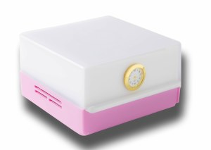 ShabLed Drawer Light Stainless Steel Pink and White Body