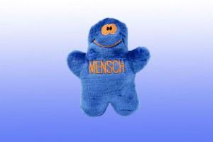 Plush Toy Mensch Blue
