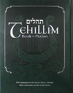 Tehillim Book of Psalms with English Translation & Commentary [Hardcover]