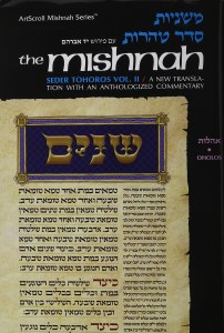 Yad Avrohom Mishnah Series 37 Tractate Oholos Complete (Seder Tohoros 2ab) [Hardcover]
