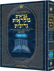Czuker Edition Mikra'os Gedolos Nevi'im Trei Asar (Twelve Prophets) [Hardcover]