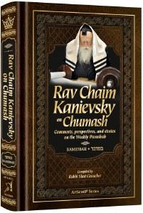 Rav Chaim Kanievsky on Chumash Bamidbar [Hardcover]