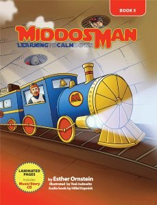 Middos Man Volume 5 Learning to Calm Down with Read-Along CD [Hardcover]