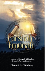 The Parshah of Emunah [Hardcover]