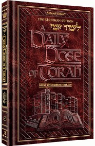 A Daily Dose Of Torah Series 1 Volume 9 Weeks of Bamidbar through Shelach [Hardcover]