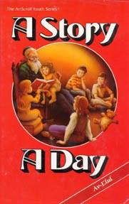 A Story A Day Volume 6 Av and Elul [Hardcover]