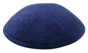 Cool Kippah Blue Tie Dye Suit Material 4 Part 21cm