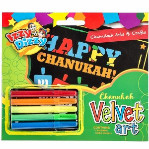 Chanukah Velvet Arts N Crafts Kit
