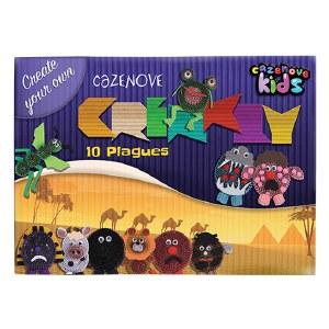 Corrugated Paper 10 Plagues Craft Kit