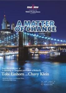A Matter of Chance DVD