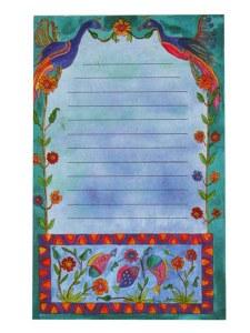 Yair Emanuel Large Magnetic Notepad - Flowers