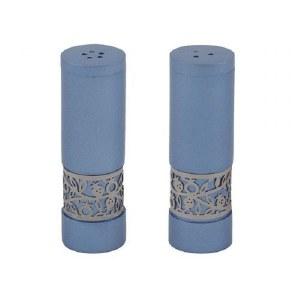 Salt and Pepper Shakers Blue Designed by Yair Emanuel