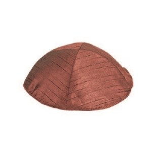 Yair Emanuel Polysilk Kippah - Red