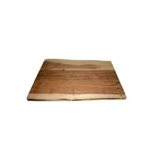 Yair Emanuel Challah Board Oblong Mixed Color Mango Wood