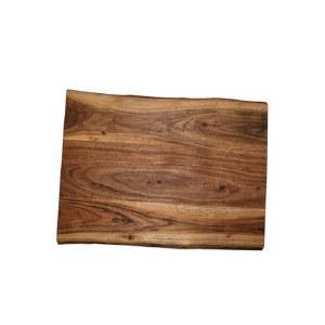 Yair Emanuel Challah Board Oblong Mango Wood with Feet