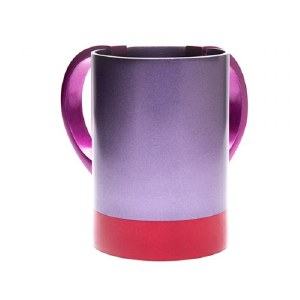 Yair Emanuel Washing Cup Anodized Aluminum 2 Tone Purple Red