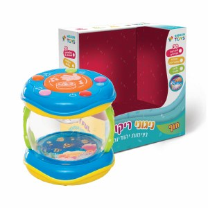 Baby Jewish Musical Drum with Sounds and Lights