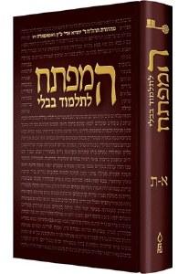 HaMafteach L'Talmud Bavli Hebrew Edition [Hardcover]