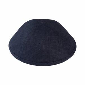 iKippah Charcoal Linen Gray Size 4