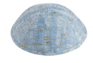 iKippah Uncorked Light Blue Size 2