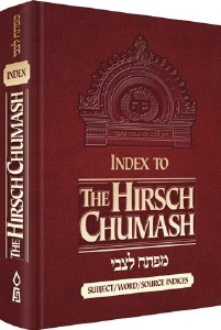 Index to The Hirsch Chumash [Hardcover]