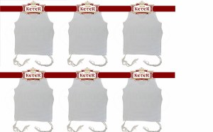 PerfTzit Undershirt Tzitzis Keter Size 3 Sefardi Meyuchad - 6 Pack