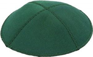 Emerald Suede Kippah Medium