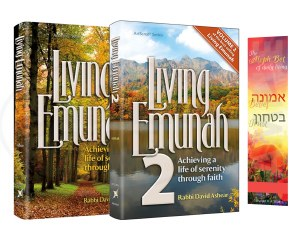 Bundle Pack Volume 1 and 2 Living Emunah [Hardcover]