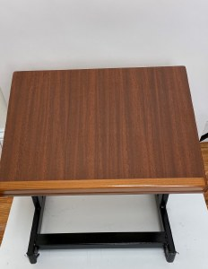 Tabletop Shtender Non Adjustable  Wood Top and Metal Base