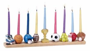 Candle Menorah Sports Design