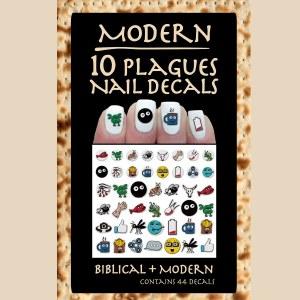 Manicure Ten Plaque Modern Nail Decals