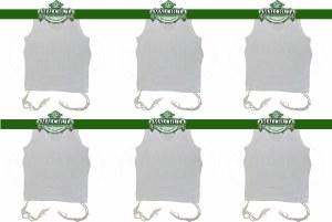 PerfTzit Undershirt Tzitzis Malchut Size 3 Ashkenazi Meyuchad - 6 Pack