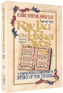 Rav Lau on Pirkei Avos - Volume 3 [Hardcover]