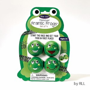 Passover Frantic Frogs Game 4 Pack