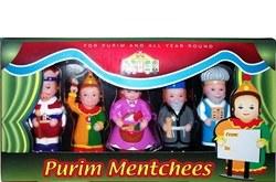 Mitzvah Kinder Purim Mentchees 6 Piece Playset